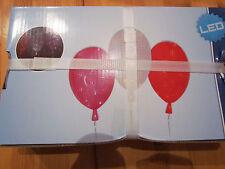 Naeve LED Ballon Rosa Luftballon Lampe 35cm Durchmesser USB & Steckdose 5149619