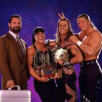 D Generation X Shawn Michaels Rick Rude Triple H Wrestling Photo 8x6 Inch