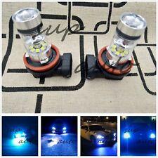 H11 H8 H9 H16 CREE LED Fog Light Conversion Kit Super Bright 8000k ice blue 55W