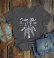 Women's 2019 Senior T Shirt Senior Tribe Shirt Class 2019 Graphic Tee Boho Arrow