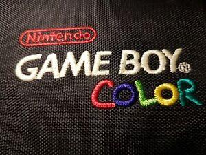 NINTENDO Gameboy Color pocket carrying case Tasche OVP NEU