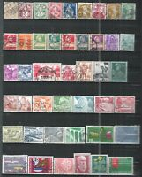 SUISSE 10 PAGES DE TIMBRES DIFFERENTS (342T)  FORTE COTE    A SAISIR