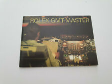 Rare Rolex Gmt master  booklet from 2006 english 16700 16710