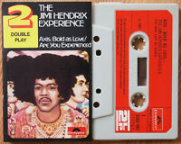 JIMI HENDRIX - AXIS BOLD / EXPERIENCED (POLYDOR 3502102) 1970s UK CASSETTE TAPE