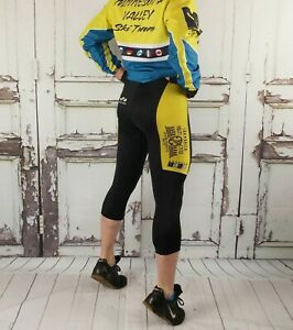 VOLER Cycling Knickers SEATTLE VELO Bike Pants Padded Spandex Tights Small