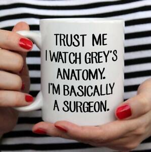Grey'S Anatomy Mug Motivation Doctors, Nurses, Hospital Funny Coffee Cup Gift...