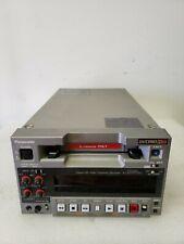 PANASONIC AJ-HD130DCP DIGITAL HD VIDEO CASSETTE RECORDER DVCPRO HD