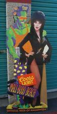 Vintage Elvira Coors Light Promo Halloween Cardboard Standee Stand Up Display