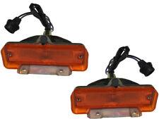 1966 1967 Chevy II Nova Front Park Parking Lamp Light Lens Assemblies PAIR