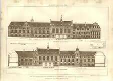 1904 New Buildings For The University Of Cambridge Tg Jackson