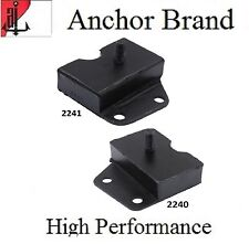 2 PCS FRONT LEFT & RIGHT MOTOR MOUNT For 1968-1969 Ford TORINO 7.0L