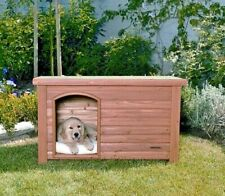 Precision Pet Dog House Outback Log Cabin - Small - The Perfect Home For Dog