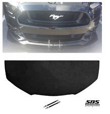 FRONT SPLITTER + 2 SUPPORT RODS for 15-17 MUSTANG GT non PP, V6 & Ecoboost