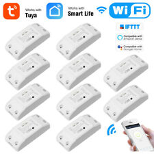 10Pcs Wifi Smart Switch Timer Wireless APP Remote Switch Module For Alexa Google