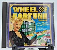 Wheel of Fortune CD-ROM (PC Computer Game 1998)