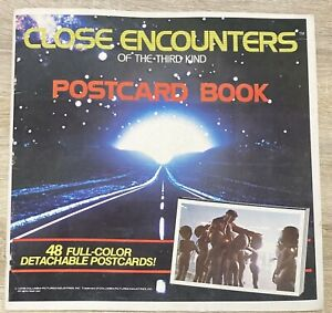 Close Encounters Of The Third Kind Postcard Book 1978