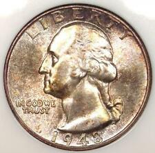 1948-S Washington Quarter 25C - Certified NGC MS67 - Rare in MS67 - $460 Value!