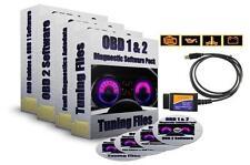 Interfaz ELM327 Cable USB OBD2 + 5 software de diagnóstico de bonificación Opel Opel