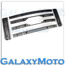 09-12 Ford F150 XL+XLT+SXT Aluminum Glossy Black 6pcs Billet Grille Overlay