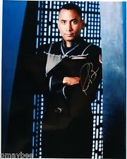 "RICHARD BIGGS BABYLON 5 Autographed Photo as Stephen Frank C.M.O. 8""x10"""