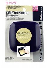 MAYBELLINE Corrector powder YELLOW Corrects Dark Shadows