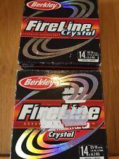 Berkley Fireline Crystal X2