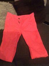 H&M girls illuminous pink jeans size 12-15years