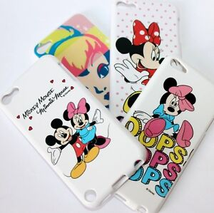 For iPod Touch 5th 6th 7th Gen - Hard TPU Rubber Silicone Skin Case Cover Disney