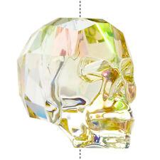 SWAROVSKI 5750 Crystal Skull Bead lumineux vert (19 mm) pack de 1 (M56/3)
