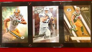 JORDY NELSON 3 CARD PLAQUE GREEN BAY PACKERS KANSAS STATE WILDCATS