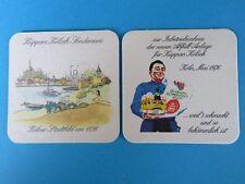 Vintage KUPPERS Beer Coaster: Küppers Kölsch Brauerei ~ Cologne, GERMANY Brewery