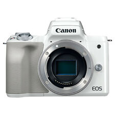 Canon EOS M50 Mirrorless 24.1MP Digital Camera Body White