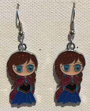 Anna Earrings Disney Surgical Hook New Frozen