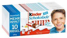 Ferrero Kinder Schokolade 10 Tafeln
