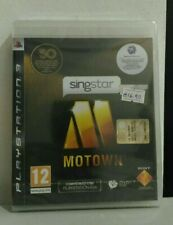 Singstar Motown PAL Ita Ps3 Nuovo New Sigillato Playstation 3