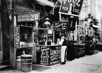 Vintage NYC Restaurant Photo 517 Bizarre Odd Strange