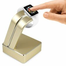 Premium Apple Watch Charging Stand 38mm/42mm Desk Stand Cradle - GOLD