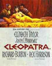 Metal Sign Cleopatra 1963 01 A4 12x8 Aluminium