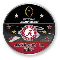 2021 CFP ALABAMA PARTICIPANT PIN COLLEGE NATIONAL CHAMPIONSHIP TITLE GAME