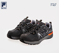 FILA Brand New Safety Shoes Jogger F-401 Work shoes  Steel Toe US 7-11