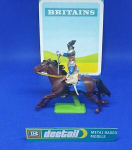 Britains Deetail Mounted Napoleonic Waterloo Original French Cuirassier -Ref 768