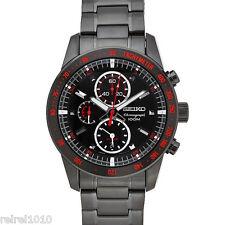 Seiko SNAD91 Motor Sport Chronograph Black TiCN 100m Men's Watch SNAD91P1