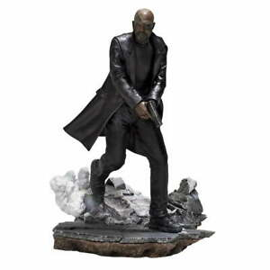 MARVEL COMICS NICK FURY IRON STUDIOS STATUE BASED ON SPIDER-MAN FAR FROM HOME