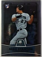 2010-11 Bowman Platinum Giancarlo Mike Stanton Rookie RC #86, Marlins, Yankees