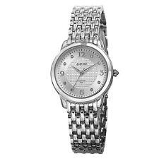 Women's August Steiner AS8133SS Elegant Swiss Diamond Accented Silver-tone Watch