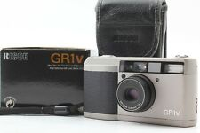[Near Mint in Box] Ricoh GR1V Point & Shoot 35mm Film Camera w/ Case from JAPAN