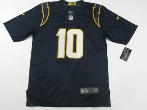 New Justin Herbert #10 Los Angeles Chargers Game Men's Jersey Navy Blue
