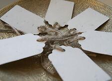 6x Rustic Wildflower Seed Paper Wish Tree Tags Jute Ties, Wedding, Biodegradable