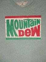 XL green MOUNTAIN DEW SODA t-shirt by SAVVY
