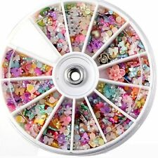 Heart DIY Nail Art Nail Decoration Manicure Tools Polymer Clay Stickers
